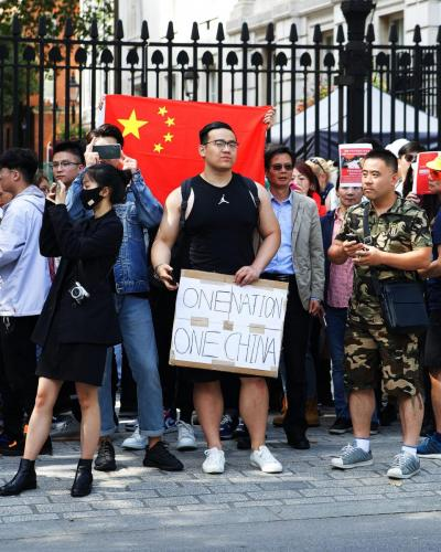 """""""One nation, one China"""", 17 August 2019"""